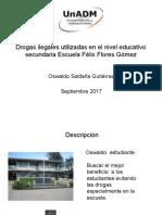 Drogas ilegales utilizadas en el nivel educativo secundaria.pptx