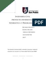 Proyecto Informático