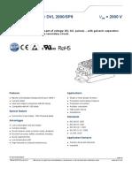 DC Volt Sensor -Dvl_2000_sp9