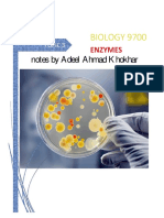 3 Enzymes as Biology