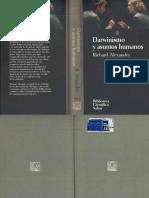 Darwinismo y Asuntos Humanos R Alexander Biblioteca Cientifica Salvat 050 1994 OCR