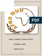 Afromun Chair Training 2017
