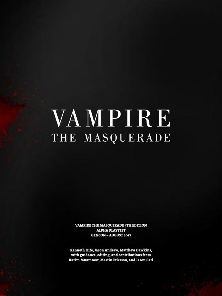 vampire 5th edition pdf free
