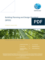 EarthCheck Building Planning & Design Standard V4.1