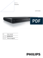 Philips Dvp3350k 98 User Manual