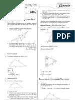 Matemática - Caderno de Resoluções - Apostila Volume 2 - Pré-Universitário - mat2 aula07