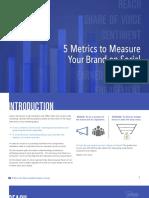 Metrics to Measure Your Brand