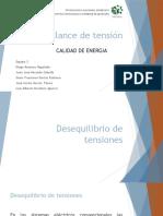 Presentacion de Desbalance de Tension (1)