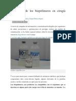 El Peligro de Los Biopolímeros en Cirugía Plástica