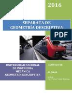 Problemas de geometria descriptiva El Plano