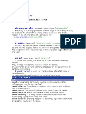 Chapter Xiv Vocabulary Docx Commodity Chemical Bond