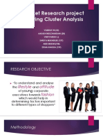 Cluster Analysis Zain