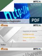 6. Proyectos Regionales-FITEL