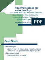 Caso Clinico Intoxicacao