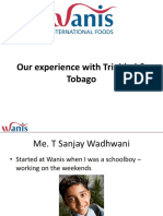 Sanjay Wadhwani Wanis International Foods