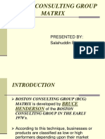 BCG Matrix ppt