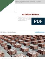 0074 PSU Actividad Mineria en Chile