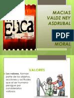 Etica y Valores Ney Macias