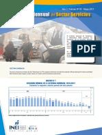 Boletin Estadistico Del Sector Servicios n 05 Mayo 2017