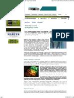 Revista Hsec - Señalética de Seguridad_ El Riesgo Bajo Control