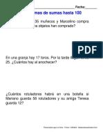 Problemas Sumas 20 a 100 (3)