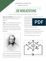 Puente Wheatstone