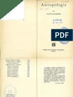 Clyde Kluckhohn-Antropologia, A Leer P-clase