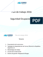 Seguridad Ocupacional 2016