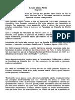 Álvaro Vieira Pinto- Biografia