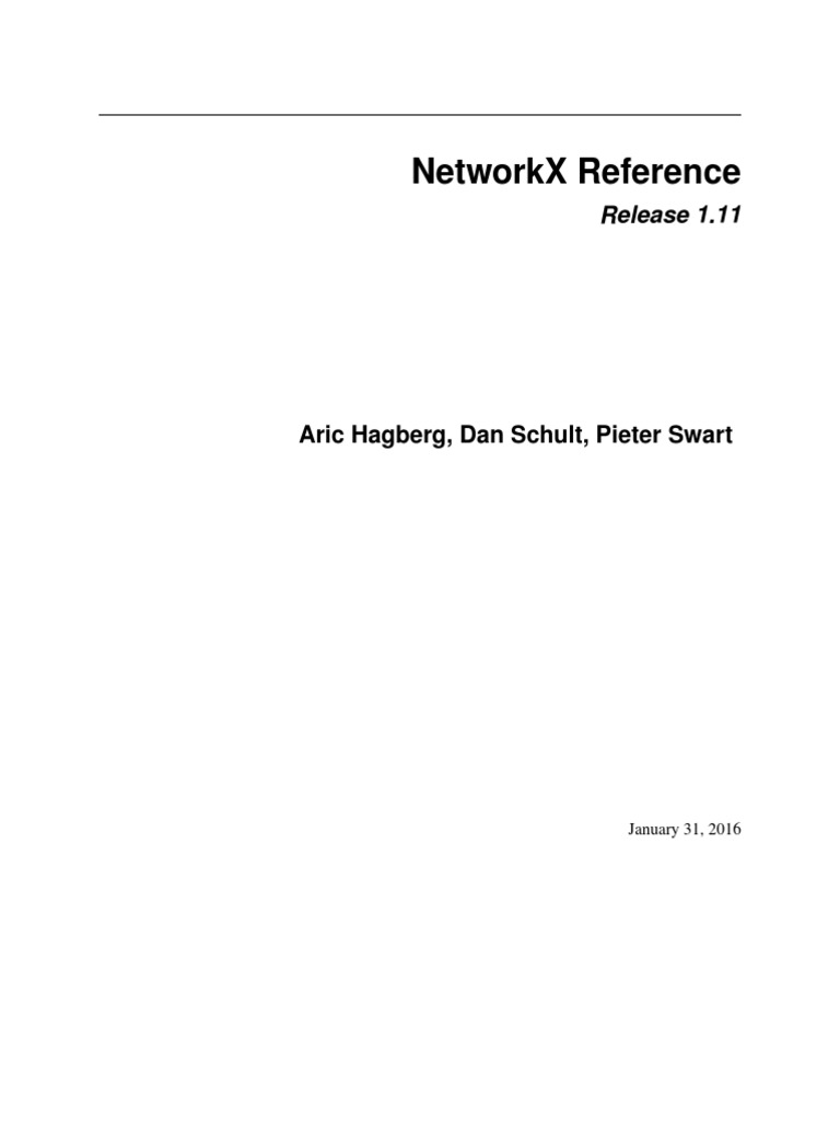 Network x   Vertex (Graph Theory)   Theoretical Computer Science
