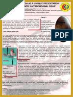 Dysphagia as a Unique Presentation Posters