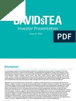 DTEA 2016 ICR Investor Presentation Jun 2016 FINAL
