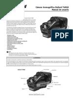 Camaras Termicas T4Max ManualDeUsuario Esp