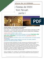 10. Las Fiestas de IHVH - Yom Teruah Parte 1