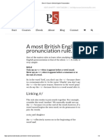 Sound in British English Pronunciation