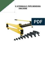 Hydraulic Pipe Bending File