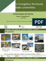 Planificación Energética Territorial Ciudades sostenibles / Universidad del Norte