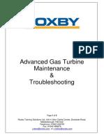 Advanced Gas Turbine Maintenance Troubleshooting