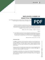 Reflexión Sobre Práctica Pedagógica