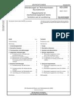 [VDI 2050 Blatt 4-2011-11] -- Anforderungen an Technikzentralen - Raumlufttechnik