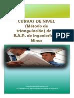 Curvas de Nivel Metodo de Triangulacion Ejemplo 2014-i