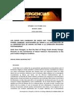 Konvergencias-Filosofia-La Condicion Religiossa Posmoderna