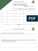 Relatório Da Avaliação de Plano de Desenvolvimento Individual Da Criança