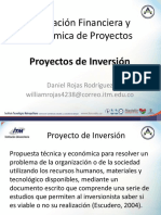 Clase 3 - Proyecto de Inversión