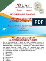 7.- Factores Que Afectan La Distribución de Planta