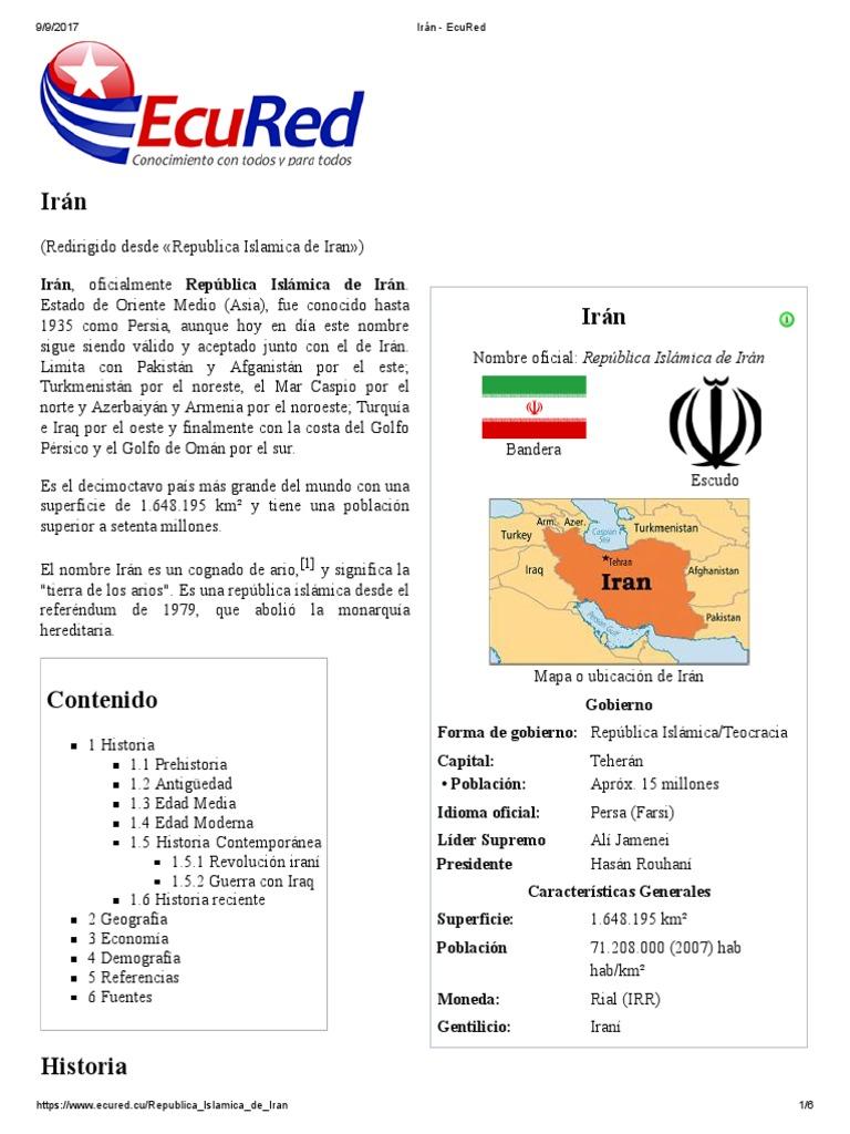 Irán - EcuRed a0a403db0f696