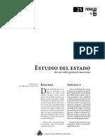 Estudio del estado del arte de la Innovación(1)