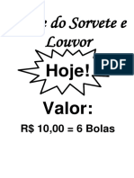 Tarde Do Sorvete e Louvor