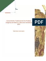 Estudio Conocimiento Trad de Pueblos Indigenas