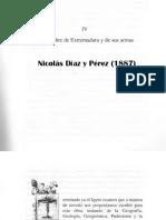 Origen del nombre de Extremadura por Nicolas Díaz y Pérez de la obra España, sus monumentos y artes, su naturaleza e historia (1887)